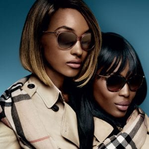 Womens Burberry Glasses campaign