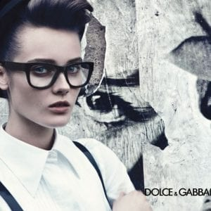 Black frame Dolce & Gabbana Glasses