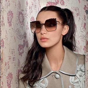 Large square Fendi Glasses