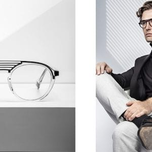 JF Rey Glasses for men and product shot