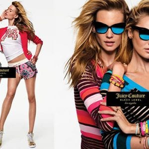 Juicy Couture Glasses young woman campaign