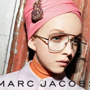 Marc Jacobs Glasses campaign for women