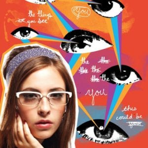 Women's Paul Frank Glasses campaign