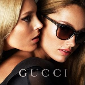 Womens gucci glasses campaign