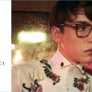 Men's gucci glasses campaign