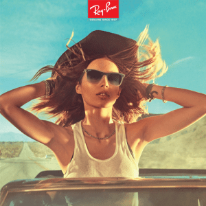 Campaign for ray ban glasses
