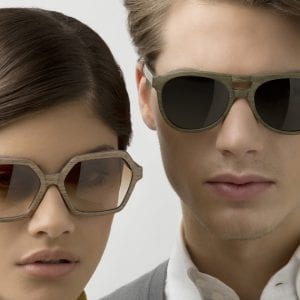 Couple wearing Feb 31st glasses