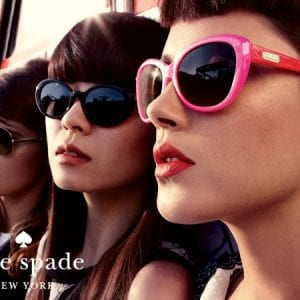 Kate Spade Glasses group shot of models