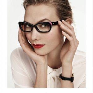 Kate Spade Glasses black wide frame