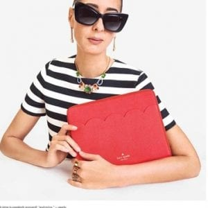 Kate Spade Glasses black and white style