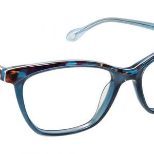 Blue aqua fysh glasses