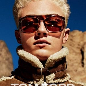 reflective tom ford glasses