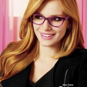 bella thorne wearing candies glasses