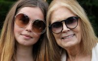 Mother Daughter wearing Chloe Glasses